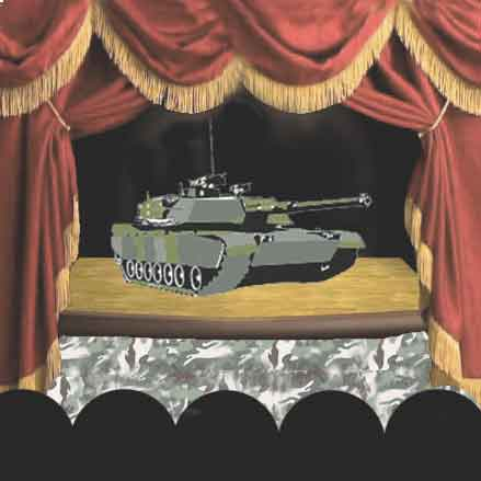 Stage with tank